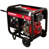 Gerador de Energia à Diesel Monofásico 5,5Kva 110/220V BD-6500 E - BRANCO-90304423