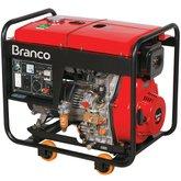 Gerador à Diesel 6,5Kva 110/220V  8000 E - BRANCO-90314093