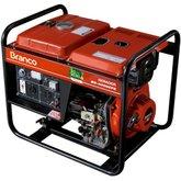 Gerador à Diesel 3,3Kva 110/220V  BD 4000E - BRANCO-90304413