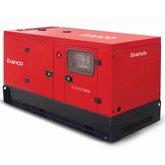 Gerador de Energia Cabinado a Diesel 4T 26,25kVA Monofásico 220V com ATS - BD-26000 ES - BRANCO-90315170