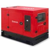 Gerador de Energia Cabinado a Diesel 4T 18,75kVA 110/220V com ATS - BD-19.000 E3 S - BRANCO-90314970