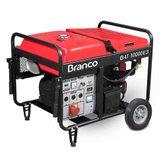 Gerador à Gasolina 9,2KVA  220/380V B4T10000E - BRANCO-90315010