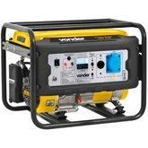 Gerador de Energia à Gasolina 4T 3,1kVA Partida Manual Bivolt - VONDER-GGV3100