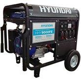 Gerador de Energia à Gasolina Monofásico 9kva Bivolt com Partida Elétrica - HYUNDAI-HHY9000FE