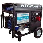 Gerador de Energia à Gasolina Trifásico 9kva Bivolt com Partida Elétrica - HHY9000FE-3 - HYUNDAI-1200018