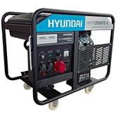 Gerador de Energia à Gasolina HHY12000FE3 Trifásico 4T 12kva Bivolt Partida Elétrica - HYUNDAI-1200020