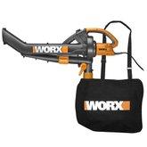 Soprador,Aspirador e Triturador Trivac 1500W  - WORX-WG500