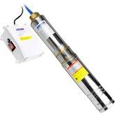 Bomba Submersa Tipo Caneta para Poço de 4 Pol. com Motor Rebobinável - 1/2 CV  - FERRARI-4SPFM2/4