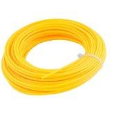 Fio de Nylon Amarelo Redondo 1,6 mm x 15 Metros para Roçadeira - VONDER-3373160015