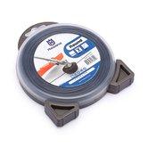 Fio de Nylon 2,7mm x 12m Preto para Roçadeiras - HUSQVARNA-5018773053