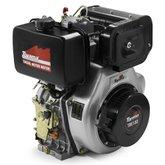 Motor a Diesel 13.0HP 4 Tempo Eixo 1 Pol. com Partida Elétrica - TOYAMA-TDE130E