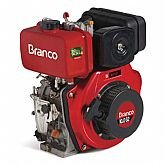 Motor à Diesel 10CV Partida Elétrica BD-10.0 G2 - BRANCO-90311907