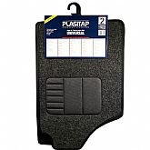 Jogo de Tapetes Carpete Tamanho 2 para Automóveis - PLASITAP-0390
