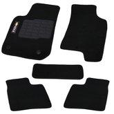 Jogo de Tapetes Carpete Agile Universal Preto com 5 Peças - ORIGINAL TAPETES-04001