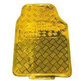 Jogo de Tapetes em Alumínio Dourado para Automóveis - ESTAMPARIA PAULISTA-TAP-08