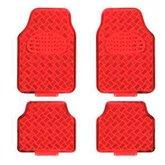 Jogo de Tapetes em Alumínio Vermelho para Automóveis - ESTAMPARIA PAULISTA-TAP-09