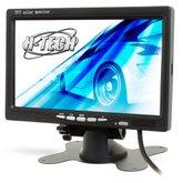 Monitor de Led 7 Pol. Preto para DVD Automotivo  - H-TECH-HT-TE7
