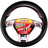 Capa para Volante Sport com Friso Vermelho - LUXCAR-8794