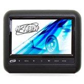 Encosto de Cabeça Acoplável com Monitor 9 Pol. e Leitor DVD/USB/MP3/MP4/MP5 Preto - H-TECH-HT-AC900