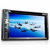 Som Automotivo Zion 6.2 Pol. LCD Touchscreen DVD/CD Player - MULTILASER-P3307