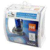 Lâmpada Automotiva H4 12V 60/55W 5000K Super Branca 5000K - MULTILASER-AU806