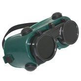 Óculos com Visor Articulado Redondo - CG 250 - CARBOGRAFITE-012118512
