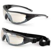 Óculos de Segurança Delta Militar com  Lente Incolor Out  - STEEL PRO-4603DELTAMILITAR-INCOLOR-OUT