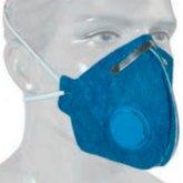 Respirador Descartável PFF2 Contra Poeira, Névoas e Fumos com Válvula - PROTEPLUS-PPR08