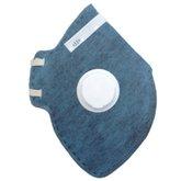 Respirador Descartável Dobrável com Válvula PFF2 CG231V - CARBOGRAFITE-010538210