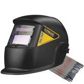 Kit Máscara de Solda Lynus MSL350F com Escurecimento Automático + Eletrodo Titanium 6013 2,5mm 1Kg - LYNUS-K143