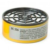 Cartucho Filtro RC 206 para Máscaras Semifacial CG 306 - CARBOGRAFITE-012120512