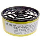 Cartucho filtro para máscaras RC206 - CARBOGRAFITE-RC206