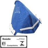 Respirador Descartável e Dobrável Unitário - CARBOGRAFITE-CG411
