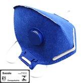 Máscara Respiradora Semifacial PFF2 Valvulada - PROSAFETY-1300