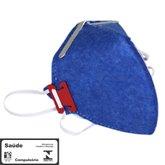 Máscara Respiradora Semifacial PFF1 sem Válvula  - PROSAFETY-1000