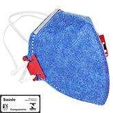 Máscara Respirador Semifacial PFF1 Válvulada - PROSAFETY-1100