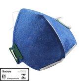 Máscara Respiradora Semifacial PFF3 sem Válvula - PROSAFETY-1400