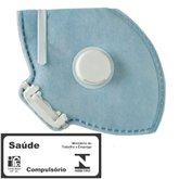 Respirador Descartável e Dobrável com Válvula CG 431V Unitário - CARBOGRAFITE-010411810