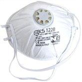 Respirador Concha PFF1 com Válvula e Elástico 122 B - BLS CLASSIC-35.33.769.06