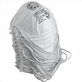 Respirador Concha PFF1 com Válvula e Elástico com 15 Unidades BLS 122 B - VOLK-35.33.769.06