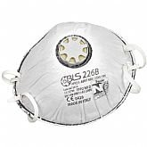 Respirador Concha PFF2 Válvula e Elástico com Grampos BLS 226 B - 1 Unidade - VOLK-353377506