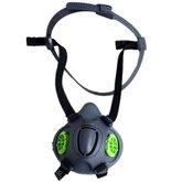 Respirador Semi Facial em Borracha Termoplástica Cinza EVO-400 - VOLK-353477809