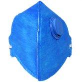 Respirador Semi-Facial PFF1 Dobrável com Válvula com 20 Unidades - GRAZIA-KIT-1001V