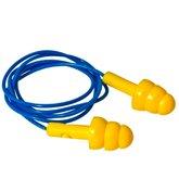 Protetor Auricular Tipo Plug em Copolímero com Cordão em PVC - PROTEPLUS-PPA01