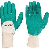 Luva de Malha com Látex Verde - VONDER-7025100200