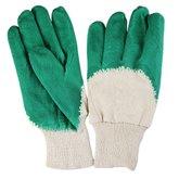 Luva Látex Natural Verde - OMEGA-OMG0001