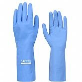 Luva Multiuso Látex Standard Azul com Forro - Extra Grande - VOLK-10.51.044.02-EG