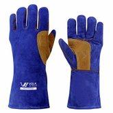 Luva Weld Premium Extra G Azul e Laranja - VOLK-107502131
