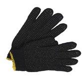 Luva de Segurança Tricotada Preta Pigmentada - Tamanho M - KALIPSO-02.11.2.3