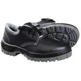 Sapato de Amarrar com Cadarço e Bico em PVC N° 40 Preto - KADESH-43203